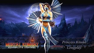 Mortal Kombat Komplete Edition [Xbox 360] - Arcade Mode - Kitana