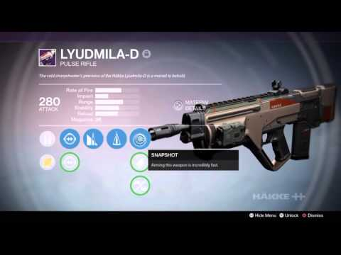 Destiny - Counterbalance - How effective actually is it? Lyudmila-D Review