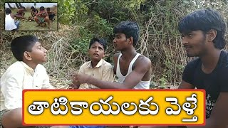 తాటికాయలకు వెళ్తే.! | Summer Comedy Videos | Child Funny Summer Videos | Telugu Comedy Videos