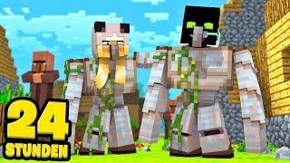 24 STUNDEN als IRONGOLEM?! - Minecraft [Deutsch/HD]