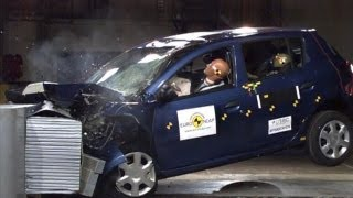 CRASH TEST ► Dacia Sandero 2013