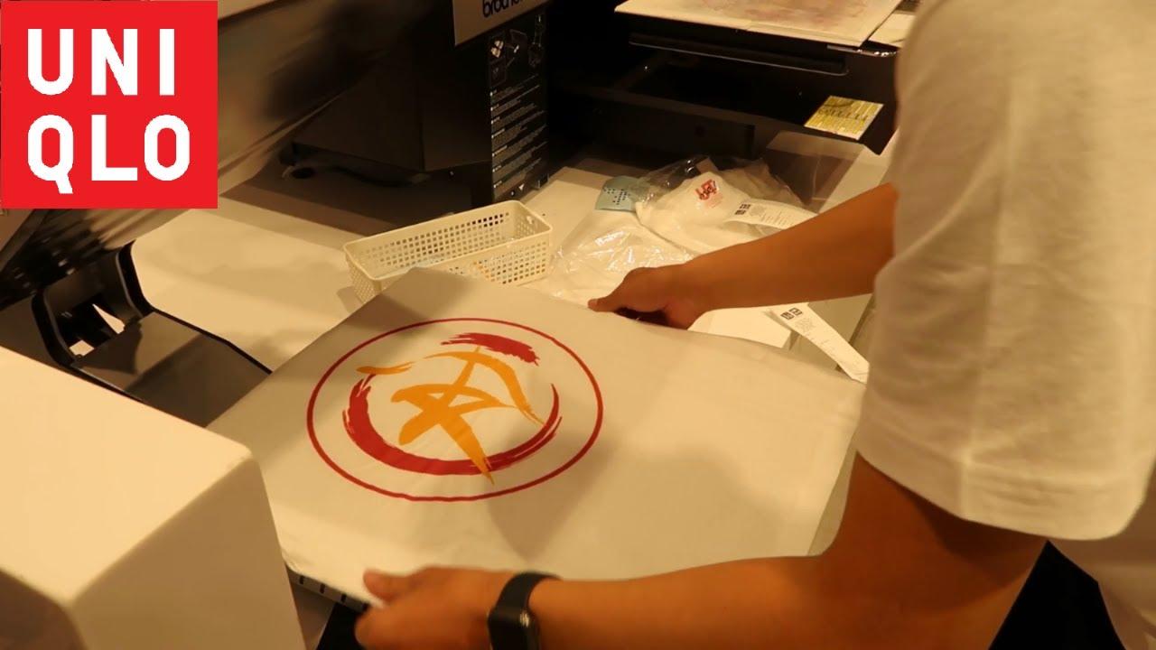 áo thun UTme của UNIQLO Việt Nam - in và giao khách trong vòng 10 phút (Uniqlo T-shirt)