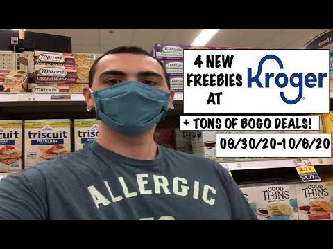 4 NEW FREEBIES AT KROGER! + BOGO DEALS ~ 09/30/20-10/06/20