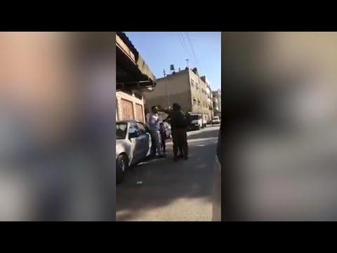 חיילי צה'ל בעימות עם פלסטיני מחברון