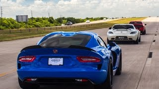 Viper vs Hellcat vs SLS AMG vs Vettes + MORE!!