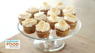 Banana Cupcakes With Honey-cinnamon Frosting - Everyday Food With Sarah Carey