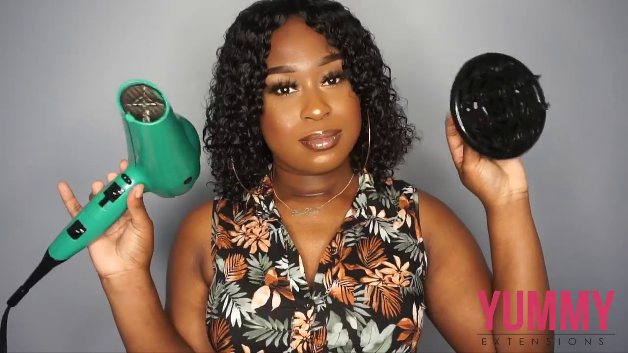 Yummy Extensions How To Acheive Defined Coils Without Frizz Youtube