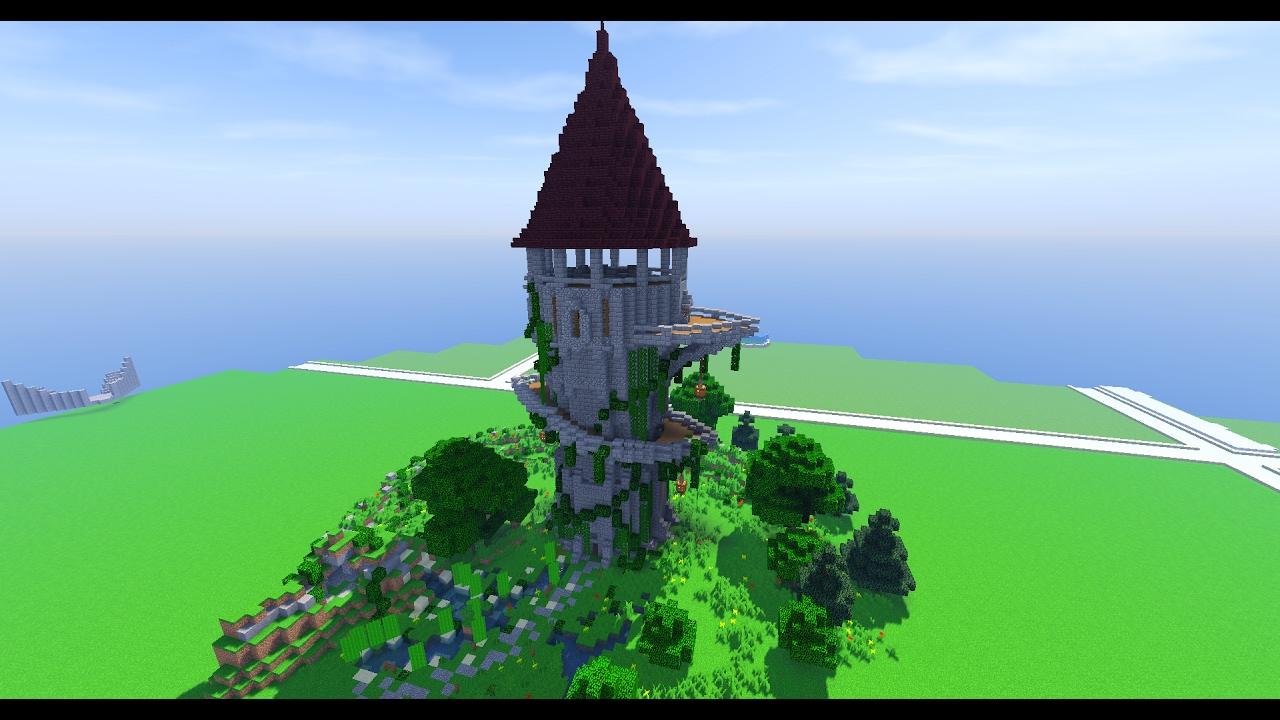 Minecraft Timelapse Tour Médiéval By Exaude Schematics