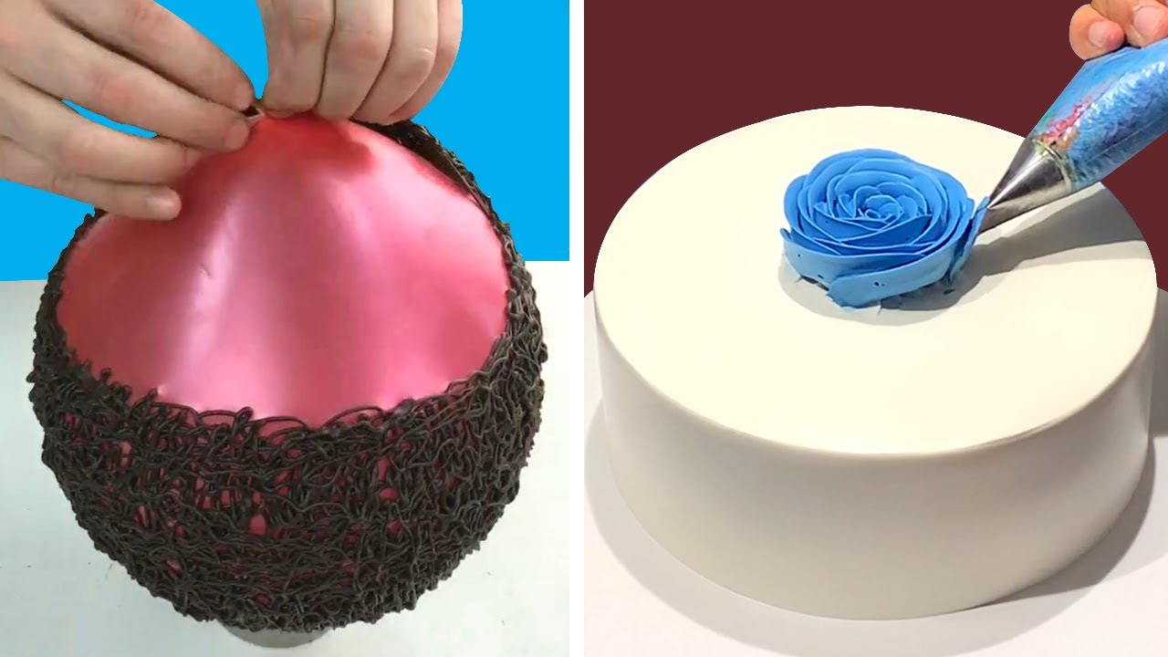 Top Creative Cake Decorating Ideas Like a Pro for Beginner | Easy Chocolate Cake Recipes Tutorials