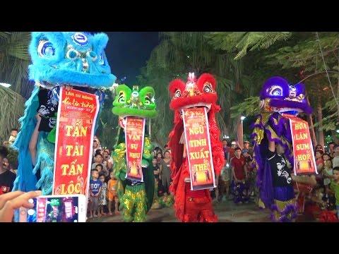 Múa Lân Sư Rồng 2015,Lion dance, Lion dance mid-autumn festival