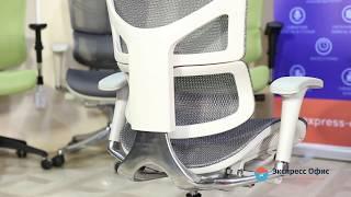 Обзор уникального анатомического кресла Expert Sail G в серой высокопрочной сетке
