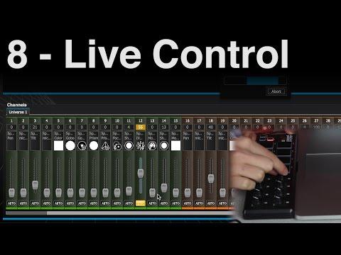 Live Control | ADJ MyDMX 2.0 [Tutorial 8]