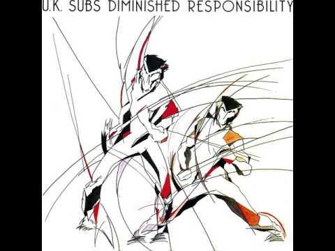 U.K.Subs - Diminished Responsibility - 1981