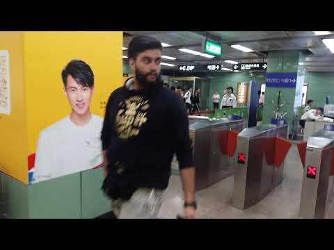 China guangzhou underground matro bus station imran riaz 03009480759