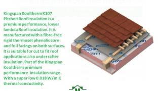 kingspan kooltherm k107 insulation