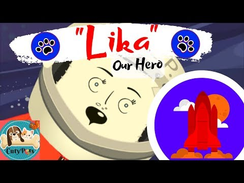 Heartbreaking Cartoon - Laika, the First Dog in Space 🐶🚀