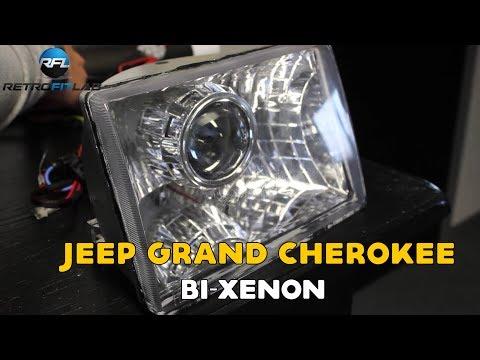 Jeep Grand Cherokee Bi-xenon projector installation