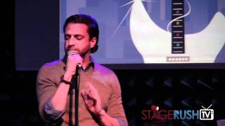 "Raul Esparza Sings ""in The Bleak Midwinter"" And ""winter Wonderland"""