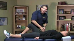 Dr. Len's Do It Yourself Test for Tight Hip Flexors and Low Back Pain