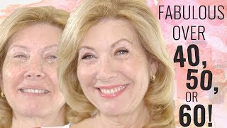 Fabulous Makeup for Women Over 50