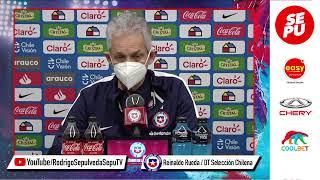 Conferencia de Prensa: Reinaldo Rueda - Previa Chile vs Colombia