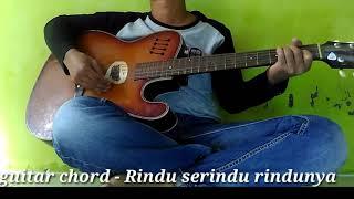 Gambar cover kunci gitar malaysia - Rindu serindu rindunya