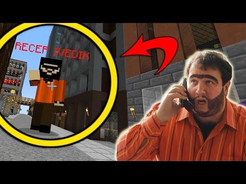 RECEP İVEDİK İLE KAPIŞTIM! - Minecraft RECEP İVEDİK ŞANS BLOKLARI!