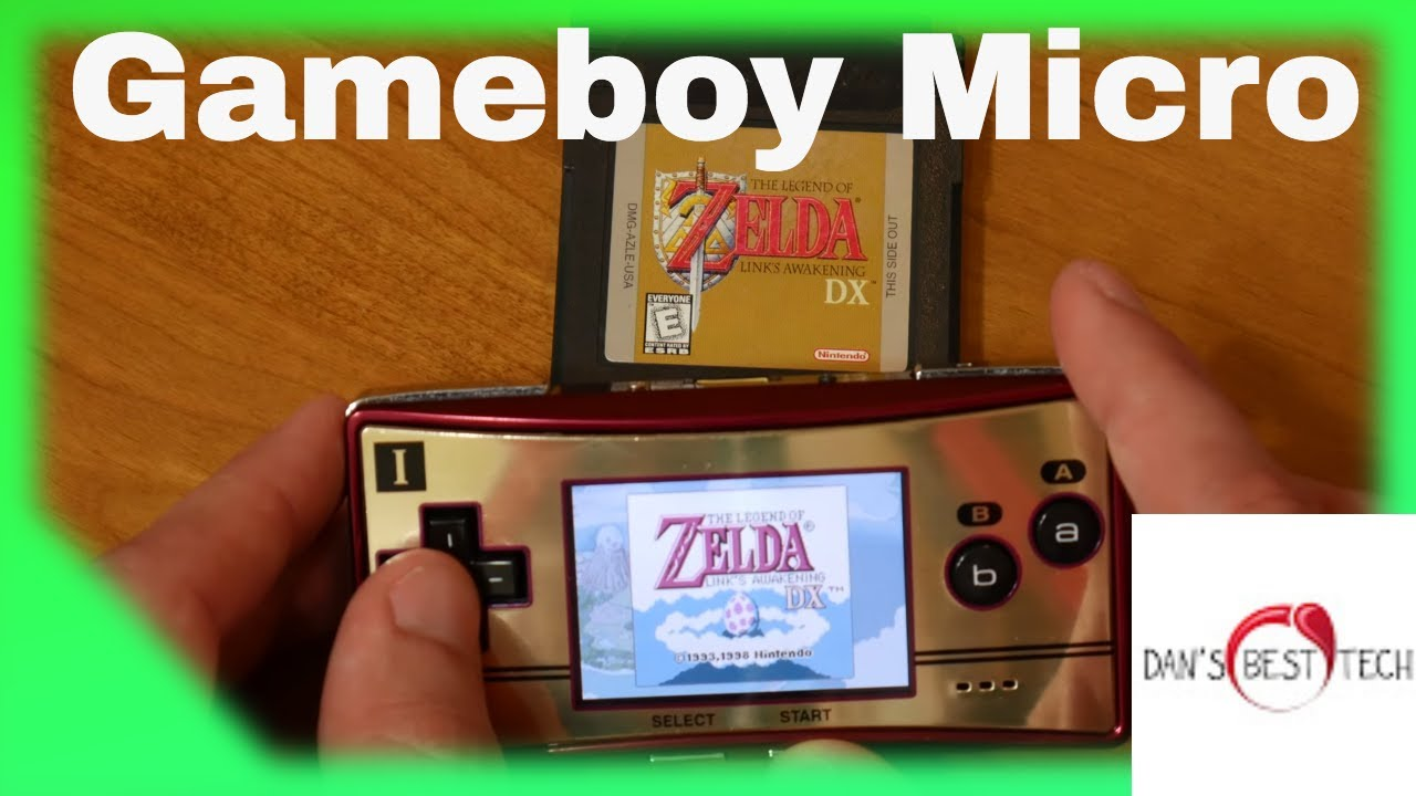 Gameboy Micro in 2019 – Video Review