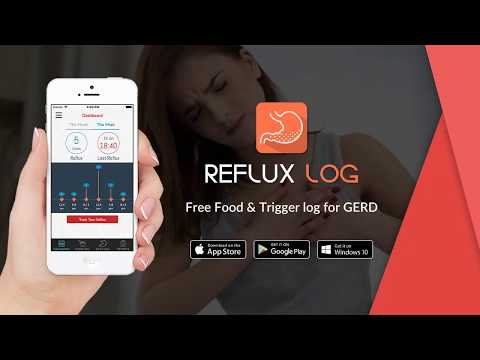 Refluxlog – Free simple app to track your Acid reflux, GERD and Heartburns including triggers