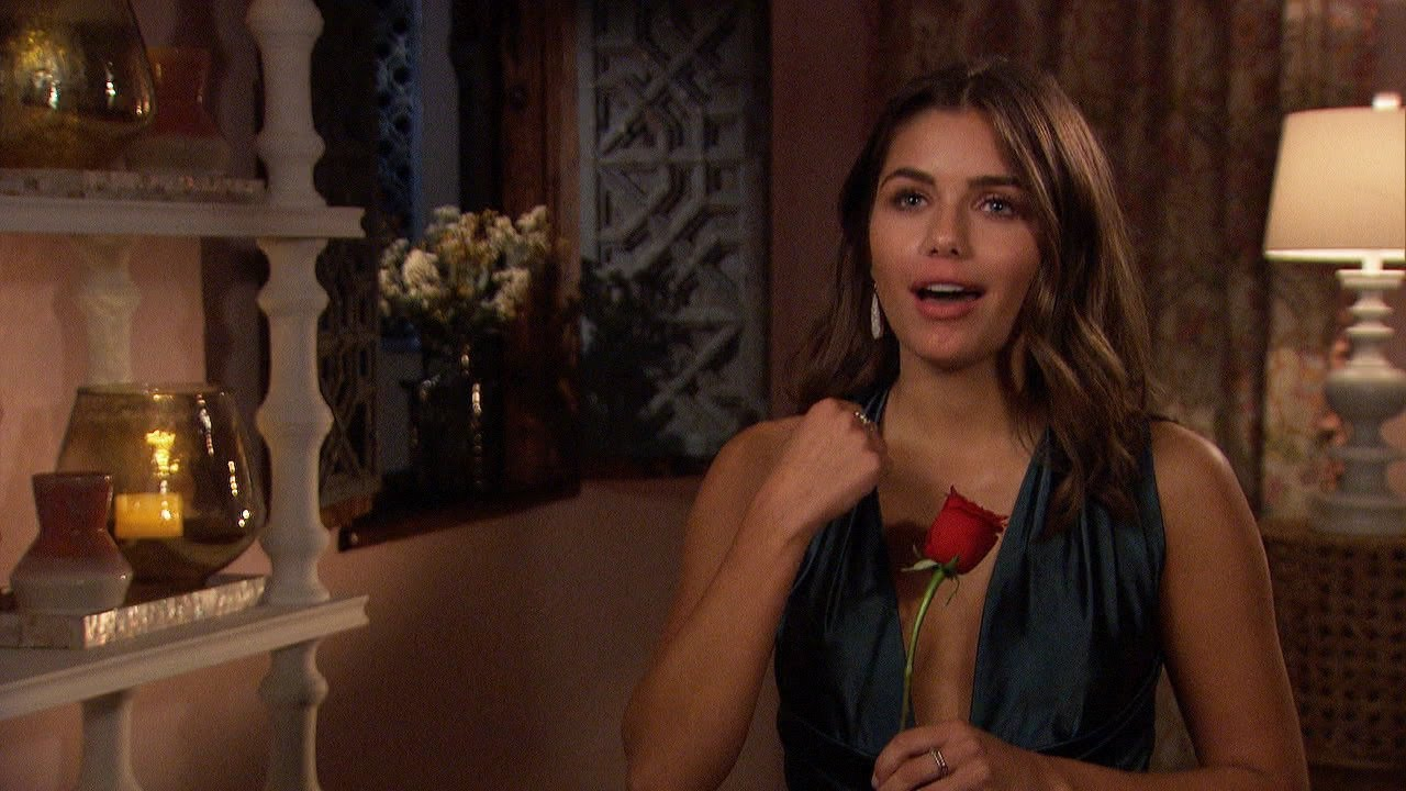 Bachelor Peter Weber Gives 1st Impression Rose to Hannah Ann ...