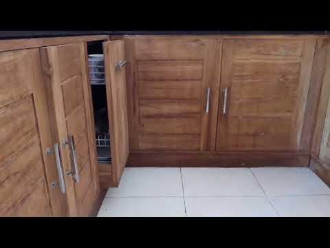 Konstruksi kitchen set/ dapur/ minimalis yang murah namun kwalitas bagus, awet, bersih,modern Kediri