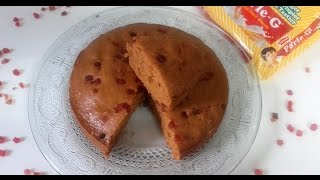 सुपर टेस्टी बिस्कुट केक  | Eggless Biscuit Cake in Cooker | Parle G Biscuit Cake without ENO thumbnail