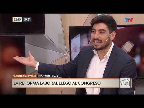 Pros y contras de la reforma laboral según Facundo Moyano