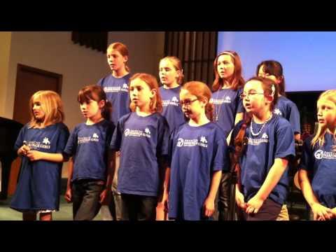 American Heritage Girls Troop MI0408 Sings The AHG Creed Song