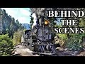 Behind The Scenes on a Steam Locomotive [4K]