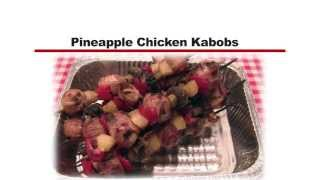 Pg500- Grilled Pineapple Chicken Kabobs By Cookshack