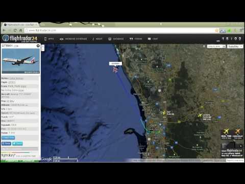 Flight Radar Perth - Doha