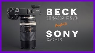 Beck 135mm f2.8 Adapted to the Sony A6000(, 2016-09-05T23:00:01.000Z)