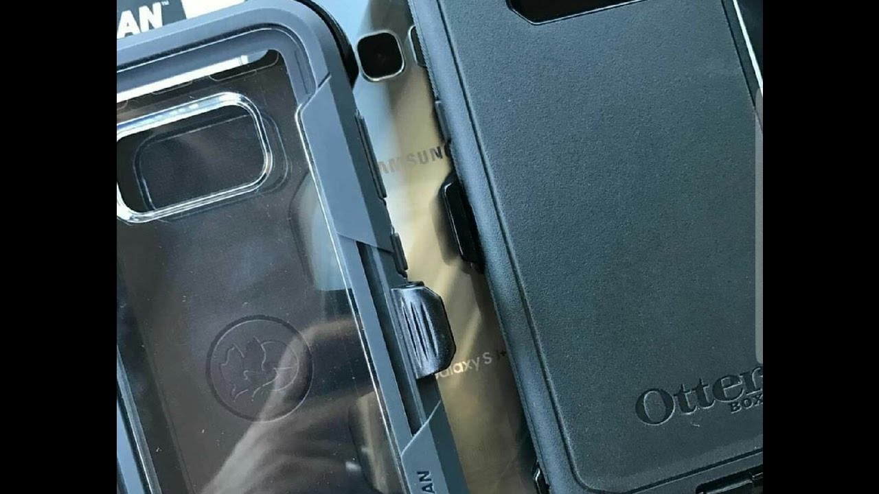 reputable site 15ba6 a9af0 Samsung Galaxy S8+ Otterbox Defender vs Pelican Voyager