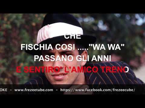 Adriano Celentano - Il ragazzo della via Gluck - Karaoke con testo