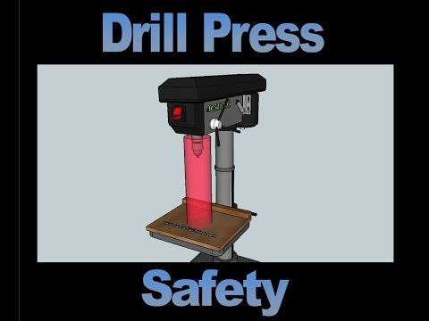 drill-press-safety-video