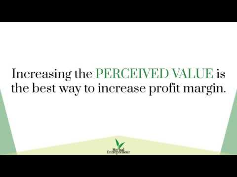 Master Your Mindset For Pricing Herbal Products and Services [Pricing Masterclass]