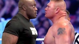WWE2K15 Bobby Lashley Vs Brock Lesnar