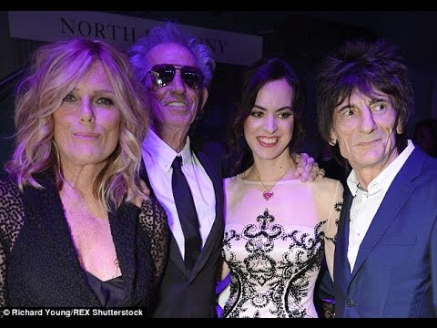 Mick Jagger Keith Richards Ronnie Wood Charlie Watts Rolling exhibition launch at Saatchi