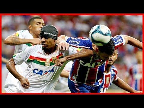 Bahia 0 X 0 Sampaio Corrêa. Melhores momentos. Sampaio campeão da Copa NE.