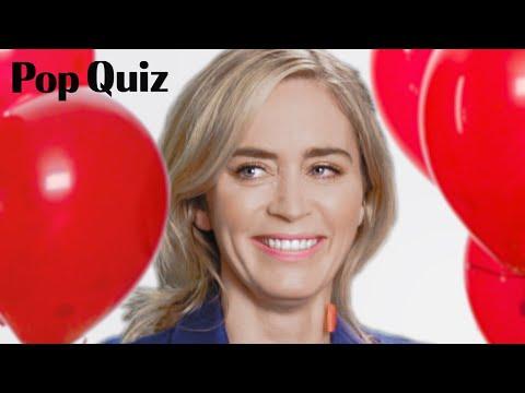 Emily Blunt | Pop Quiz | Marie Claire
