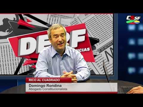 Rondina: La política no debe obstaculizar a la Constitución