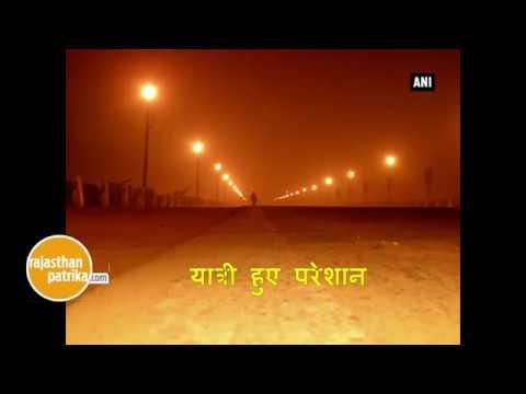 Flights delayed, cancelled as dense fog engulfs Delhi