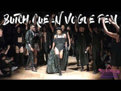 BUTCH QUEEN VOGUE FEM at The Black Lives Matter Ball