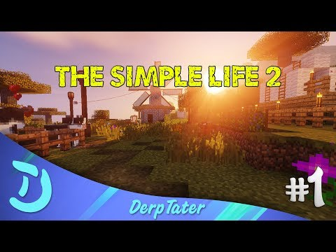 The Simple Life 2 - Modded Minecraft! - Episode 1 - Simple Beginnings